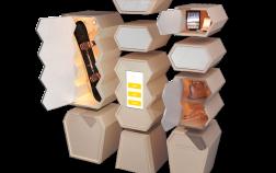 la ruche 3d - v3 Explos